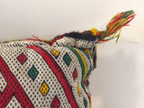 Moroccan Berber Pillow with Tribal African Designs