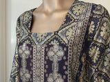 Vintage Brocade Caftan by Bob Cunningham Nellica Beitner Neiman Marcus Size S
