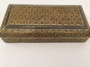 Persian Khatam Micro Mosaic Jewelry Box