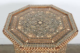 Syrian Large Octagonal Pedestal Table