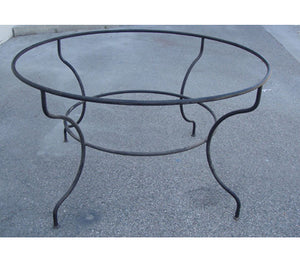 Hand Forged Wrought Iron Base