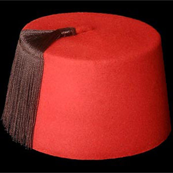 Moroccan Traditional Fez Red Hat
