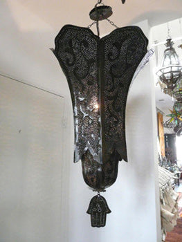 Moroccan Metal Hanging Light Shade
