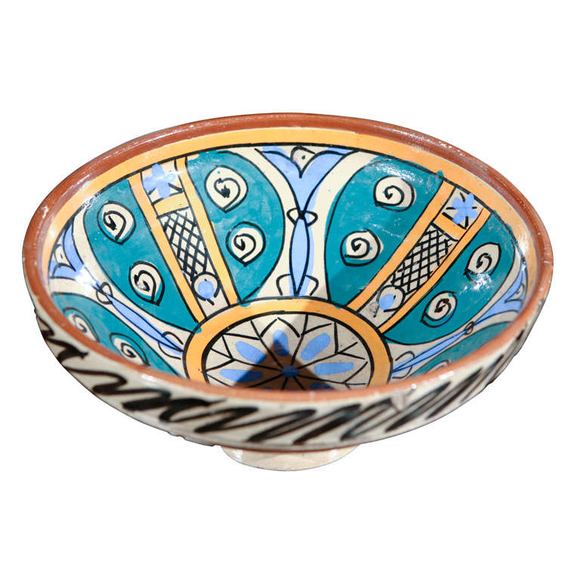 Moroccan Antique Pottery Bowl