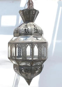 Moroccan Clear Glass Moorish Lantern