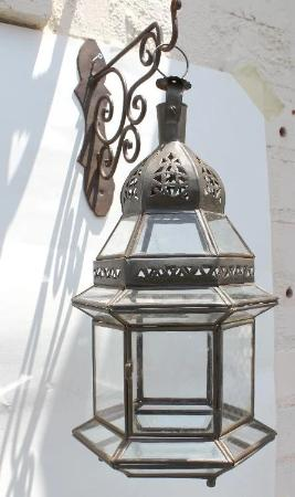 Moroccan Clear Glass Lantern
