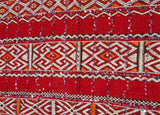 Moroccan Tribal Wedding Rug with Sequins