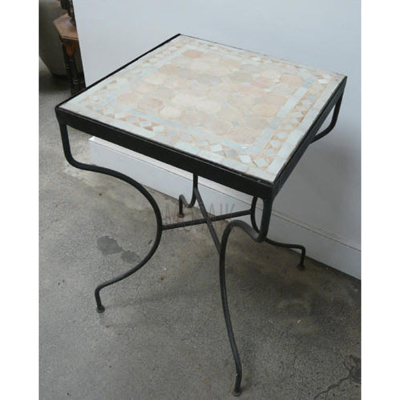Moroccan Mosaic Tile Bistro Table