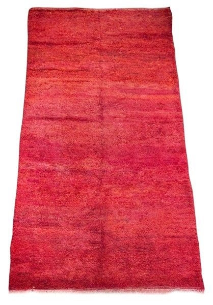 Moroccan Red Tribal Rug