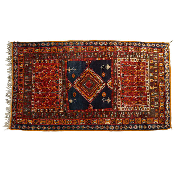 Moroccan Vintage Middle Atlas Rug At 1stdibs: Moroccan Handwoven Vintage Tribal Rugs From The Middle