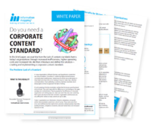Do you need a Corporate Content Standard