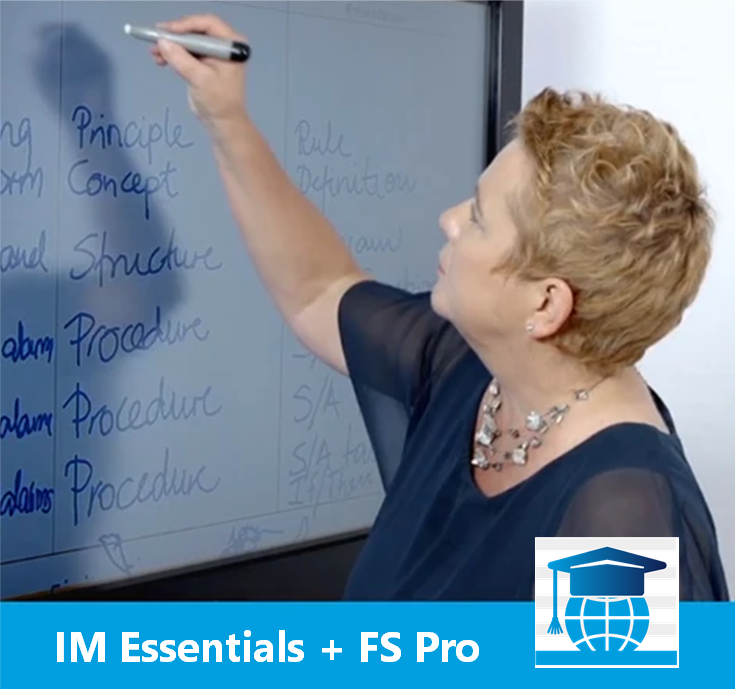 Information Mapping® Essentials™ + FS Pro for Word