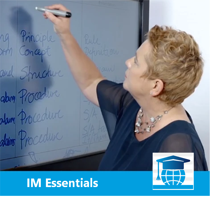 Information Mapping® Essentials™
