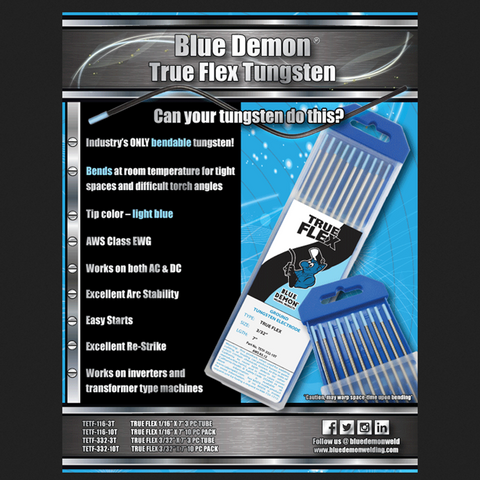 Blue Demon® TRUE FLEX Tungsten