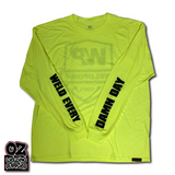 Weldporn® Hi-Vis Shield Logo Work Tees