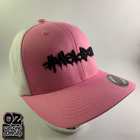 Weldporn® Puff Print Logo Fitted