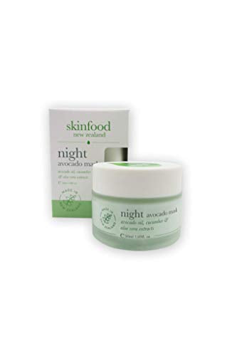 Skinfood Night Avocado Mask Nurtures Hydrates and Replenishes Skin Overnight