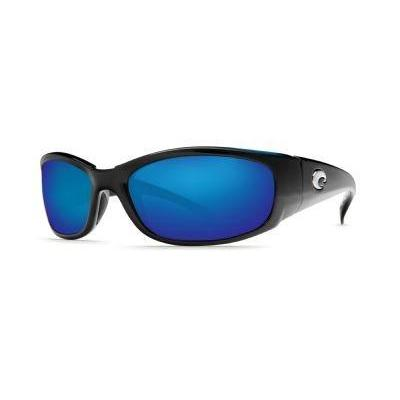 Costa Del Mar Hammerhead Sunglasses, Black/Blue Mirror 400Glass