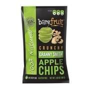 Bare Fruit Crunchy Apple Chips Granny Smith 48-Gram Bags (Pack of 10)