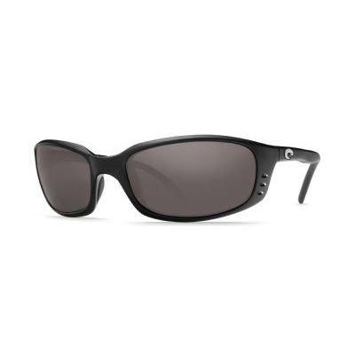 Costa Del Mar Brine Polarized Sunglasses, Black, Gray 580Plastic