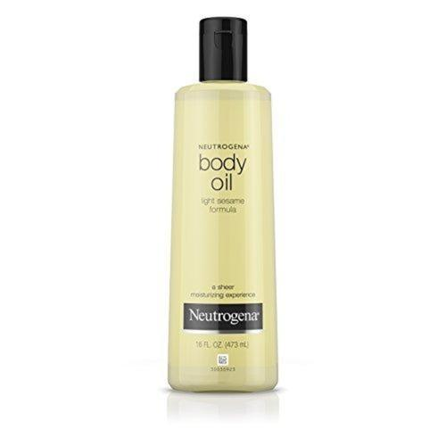 Body Oil, Light Sesame Formula