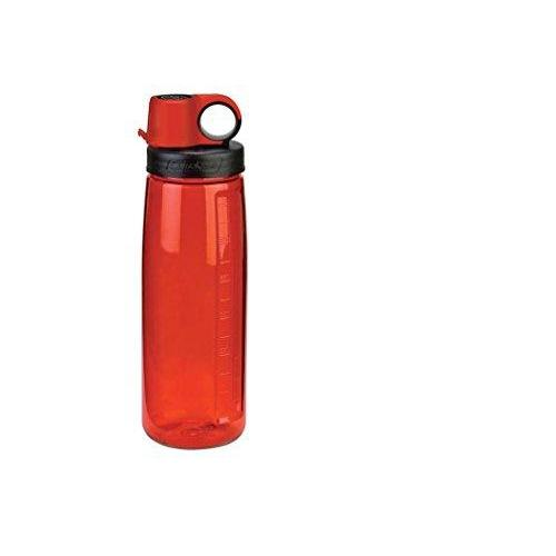 Nalgene Tritan OTG BPA-Free Water Bottle,Lollipop Red, 24 Ounce Sport & Recreation Nalgene