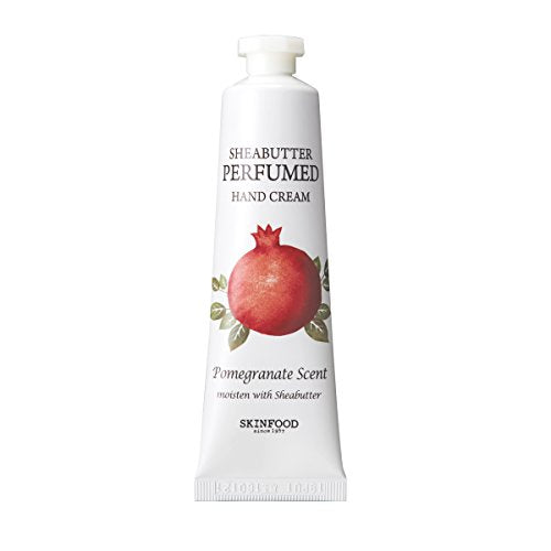 SKINFOOD Shea Butter Perfumed Hand Cream #pomegranate
