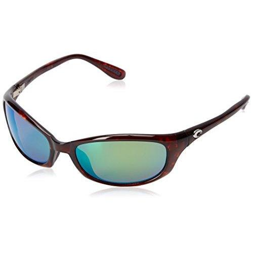 Costa Del Mar Harpoon Sunglasses, Tortoise, Green Mirror 580 Plastic Lens