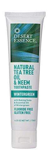 Tea Tree Oil & Neem Wintergreen Toothpaste (6pk)