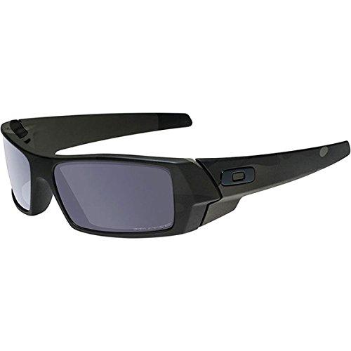 Oakley Men's Gascan Polarized Rectangular Sunglasses, SI Multicam Black/Grey, 60mm