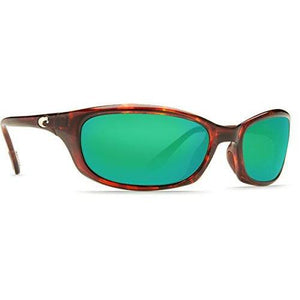 Costa del Mar Harpoon Sunglass, Tortoise/Green Mirror 580Glass