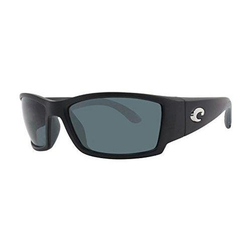 Costa Del Mar Corbina Polarized Sunglasses, Black, Gray 580Plastic