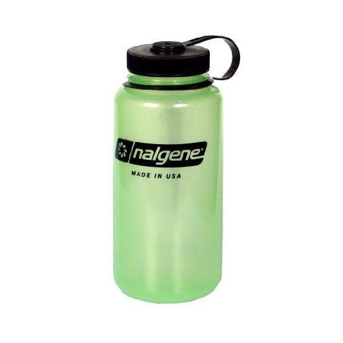 Nalgene Tritan Wide Mouth BPA-Free Water Bottle, Glows Green, 1 Quart Sport & Recreation Nalgene
