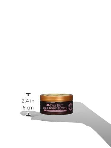 Tree Hut 24 Hour Intense Hydrating Shea Body Butter, Almond & Honey, 7 Ounce