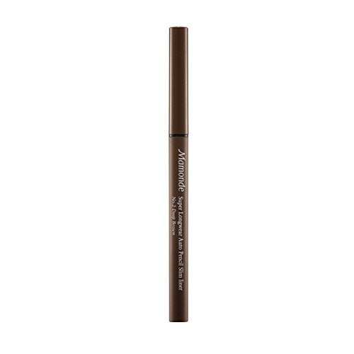 Mamonde Super Long Wear Auto Pencil Slim Liner, 02 Deep Brown