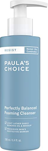 Paula's Choice RESIST Perfectly Balanced Anti-Aging Cleanser, 6.4 oz Bottle Facial Cleanser for Normal Combination and Oily Skin