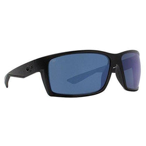 Costa Del Mar Reefton Sunglasses Blackout/Blue Mirror 580Plastic