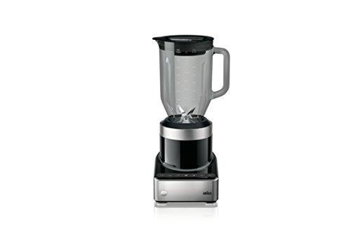 Braun PureMix Power Blender with Thermal Resistant Glass Jug - JB7350-1000 Watt - Black Kitchen & Dining Braun