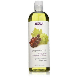 NOW Grape Seed Oil, 16-Ounce