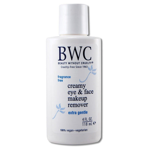 Specialty Moisturizers Creamy Eye Make-Up Remover 4 oz Cosmetics Beauty Without Cruelty