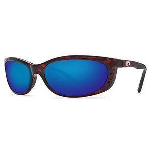 Costa Del Mar Fathom Sunglasses Tortoise/Blue Mirror 580Plastic