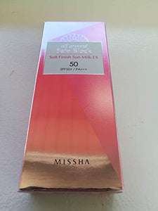 Missha All Around Safe Block Soft Finish Sun Milk EX SPF50+/PA+++ (70ml)