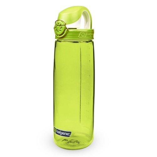 Nalgene Tritan On The Fly Water Bottle, Green with Green/White, 24Oz Sport & Recreation Nalgene