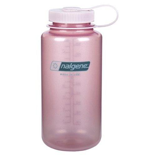 Nalgene Wide Mouth Water Bottle, 1-Quart, Fire Pink Sport & Recreation Nalgene