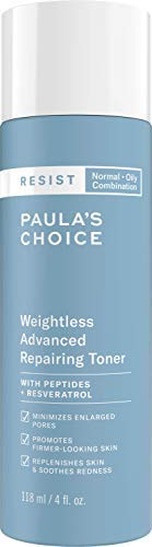 Paula's Choice RESIST Weightless Advanced Repairing Toner, 4 oz Bottle, for Oily/Combination Skin