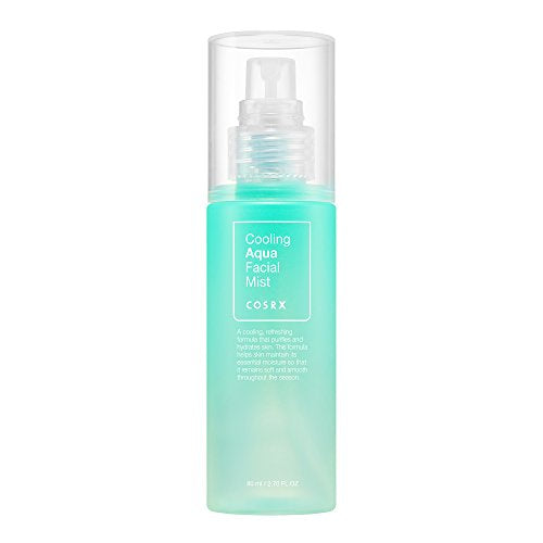 COSRX Cooling Aqua Facial Mist, 2.70 fl oz, Centella, Moisturizes and Refreshes the Skin