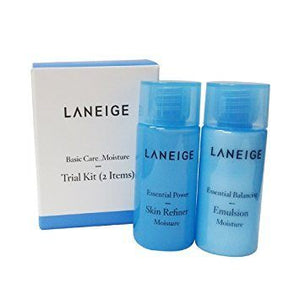 Laneige Basic Care Moisture Trial Kit (2 Items) * 10 Pcs