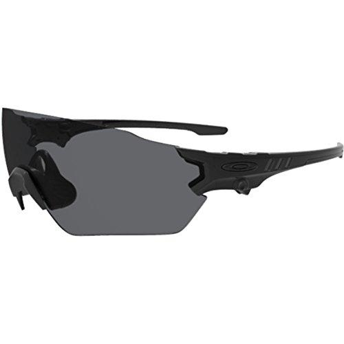 Oakley Men's Si Tombstone Spoil Oval Sunglasses, Matte Black, 39 mm