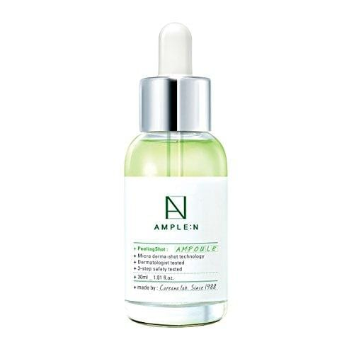 [AMPLE:N] Peeling Shot Ampoule 1.01 fl. oz. (30ml) - AHA, BHA, PHA Peeling Care for Troubled Skin/Korean All in One skin care, Highly Moisturize