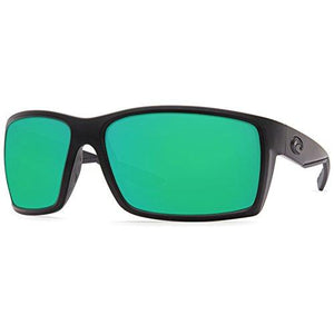 Costa Del Mar Reefton Sunglasses Blackout/Green Mirror 580Plastic